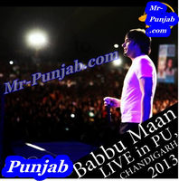 Babbu Maan Live in PU Song Cover